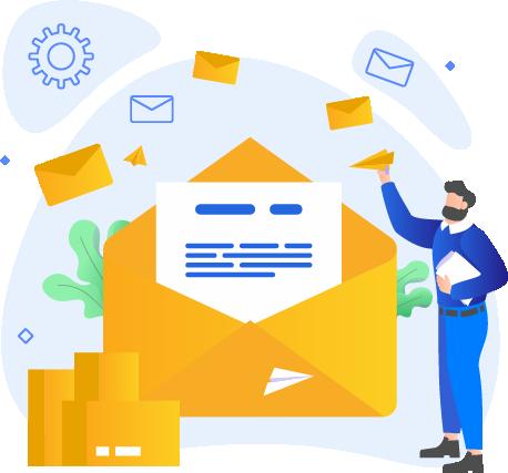 send bulk mails